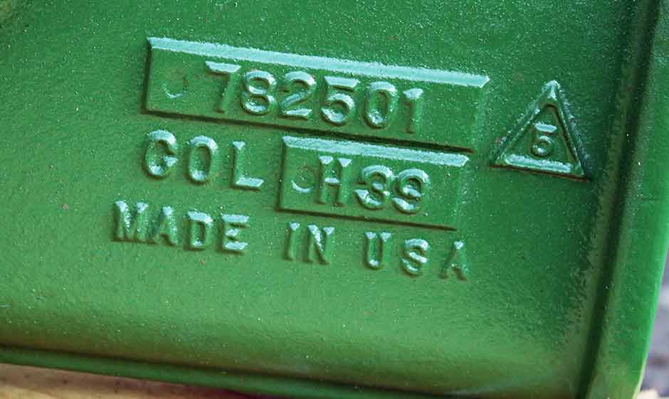 Get genuine Columbia Steel wear parts -- made in USA