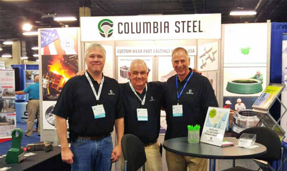 Columbia Steel at the 2018 IEEE Cement Technical Conference